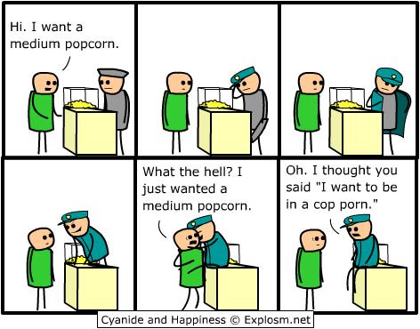 Funny Day Comic Popcor10