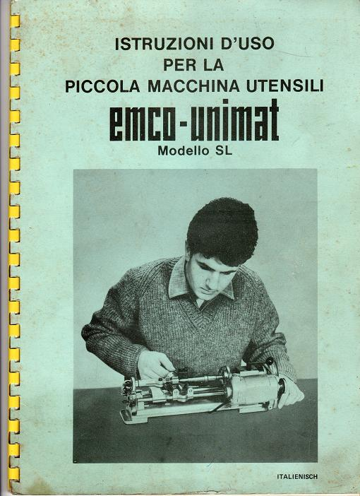 Tornietto EMCO UNIMAT mod. SL Img02510