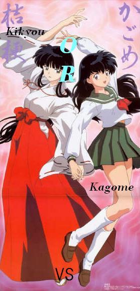 Sự khác nhau giữa Kikyou và Kagome Kikyo210