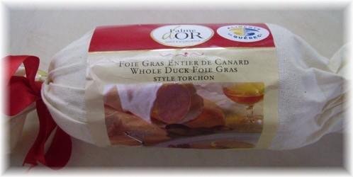 Ballotine de dinde, foie gras et canneberges 21635310