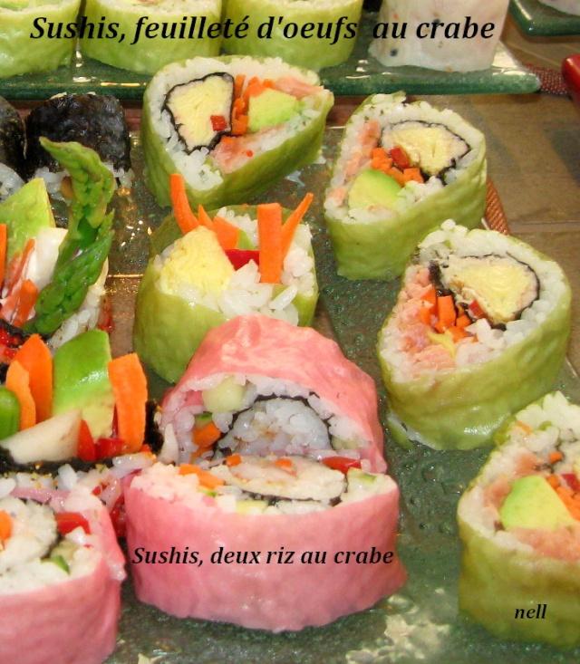 Feuilleté d'oeufs pour sushis, ou repas. _3_img10