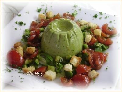 Salade autrement (Panna cotta à la laitue) _salad10