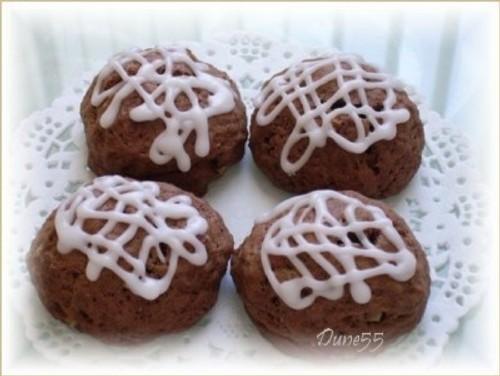 Biscuits italiens au chocolat, au café et aux épices Biscui10
