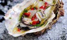 Trio d'huîtres au four News2611