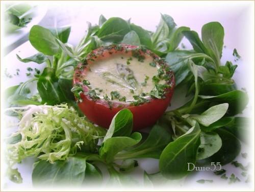 Mousse d'asperges en verrine Ook1010