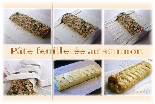 tresse de saumon - Tresse feuilletée au saumon Pause211