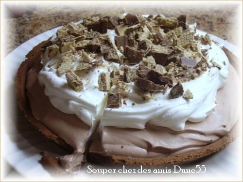 Tarte au pouding au chocolat Pict0035