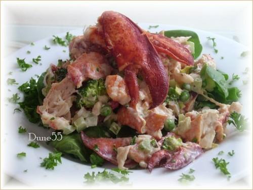 Salade de homard Pict0036