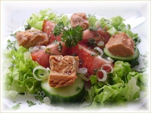 Salade de saumon  Pict0145