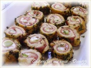 Hors-d'oeuvres : petites toasts et bouchées Pict0610