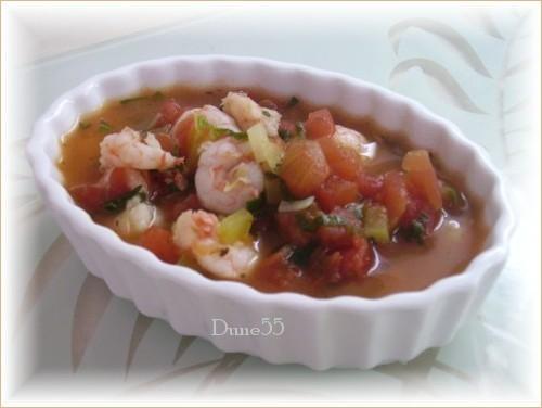 Soupe crevettes épicée Pict9115