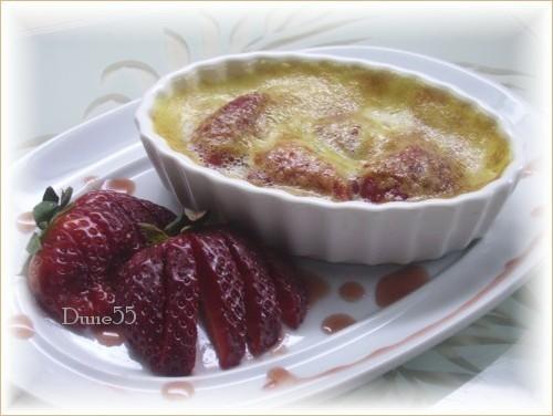 Sabayon aux fraises et au sirop d'érable Pict9510