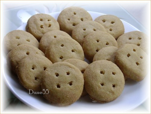 Biscuits Boutons d'or Pict9520