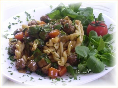 Minis boulettes sauce aux légumes Pict9521