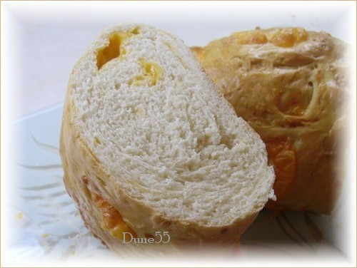 Pain brioches au fromage Pict9618