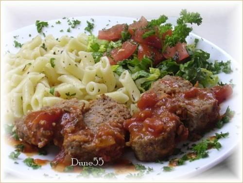 Pain de viande sauce paprika Pict9717