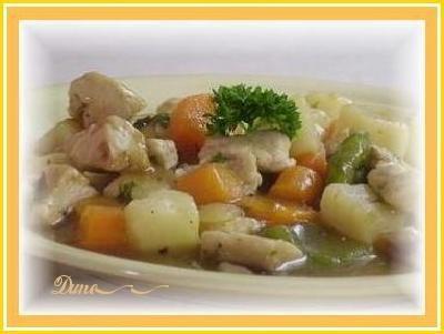 Ragoût de poulet Pou10