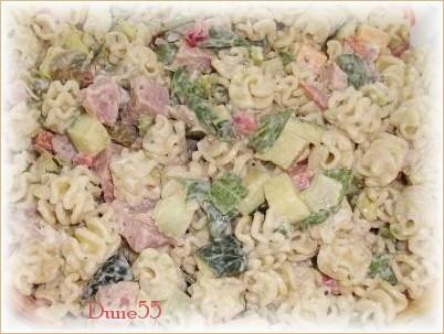Salade de pâtes au jambon Sans_t11