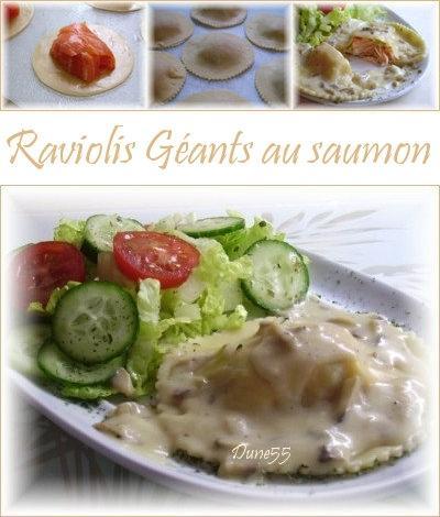 Raviolis géants au saumon Saumon10