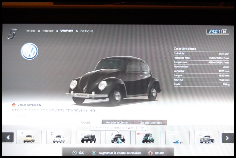 Gran Turismo 5 sur PS3 =) Dsc_0138
