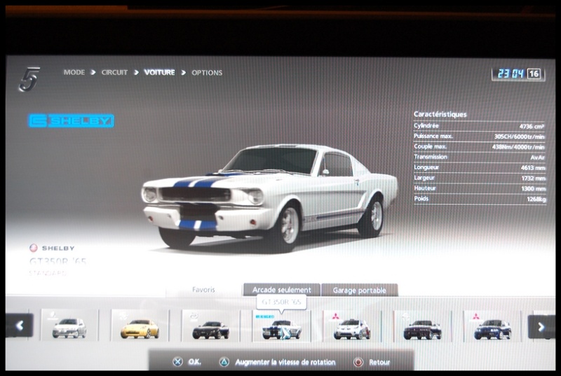 Gran Turismo 5 sur PS3 =) Dsc_0143