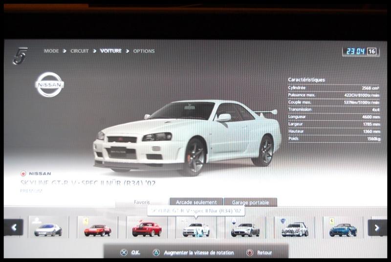 Gran Turismo 5 sur PS3 =) Dsc_0145