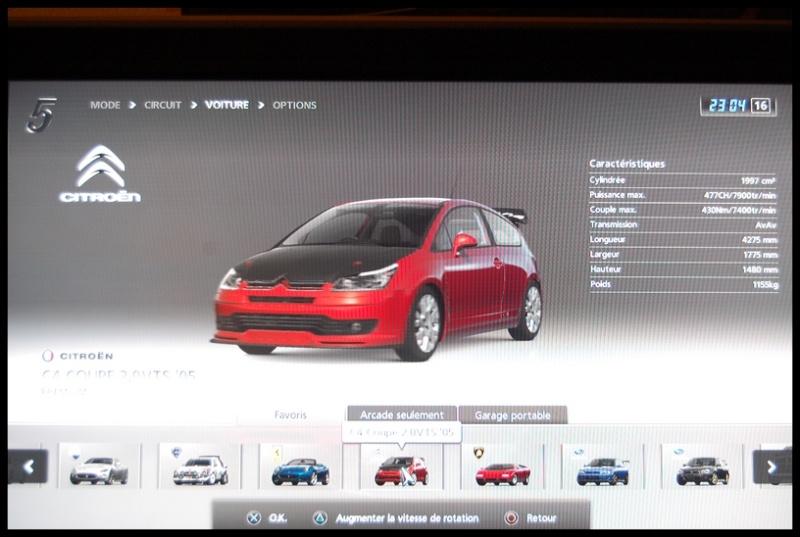 Gran Turismo 5 sur PS3 =) Dsc_0146