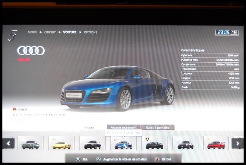 Gran Turismo 5 sur PS3 =) Dsc_0148