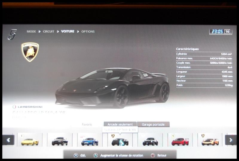 Gran Turismo 5 sur PS3 =) Dsc_0149