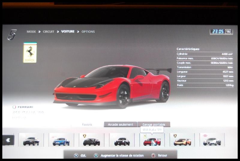 Gran Turismo 5 sur PS3 =) Dsc_0150