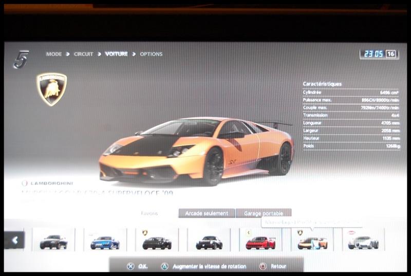 Gran Turismo 5 sur PS3 =) Dsc_0151