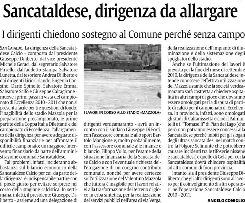 Triangolare Sancataldese - Nissa - Montedoro Cn22sc11