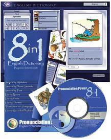 Cd 8 in 1 English Dictionary   Aperfeiçoe seu Inglês Multib24