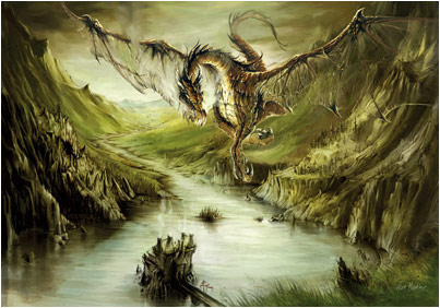 Dragons verts Lochne11