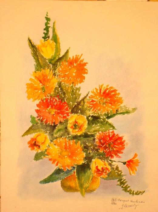 Nature morte, Fleurs  Fleur412