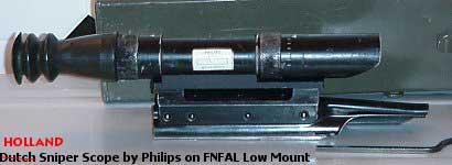 Lunette pour FAL de l armée Hollandaise, très peu de documentation sur  cette optique KRR AI 62 (je ne suis pas sur du model et du type). aae04b76fae4