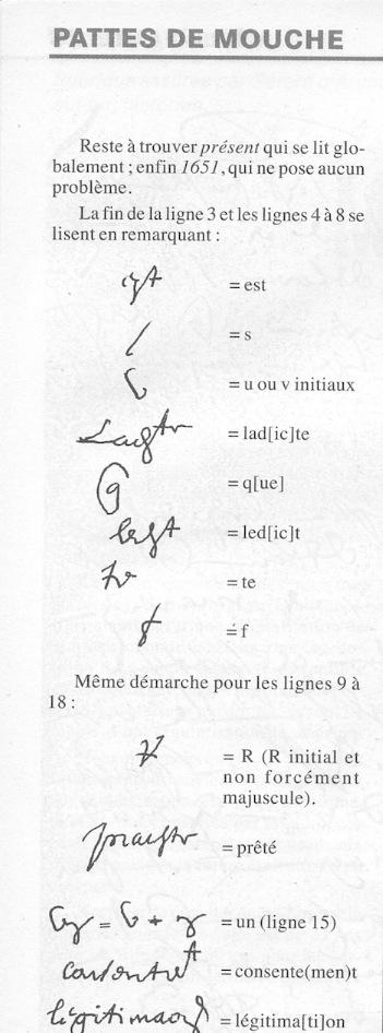 Aide à la lecture - Paléographie Captu192