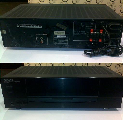 Kenwood KM-993 power amplifier (Used) SOLD Kenwoo10