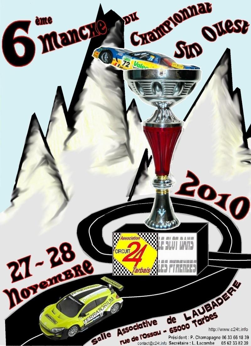 CSO 2010 : 6 ème manche à Tarbes Affich10
