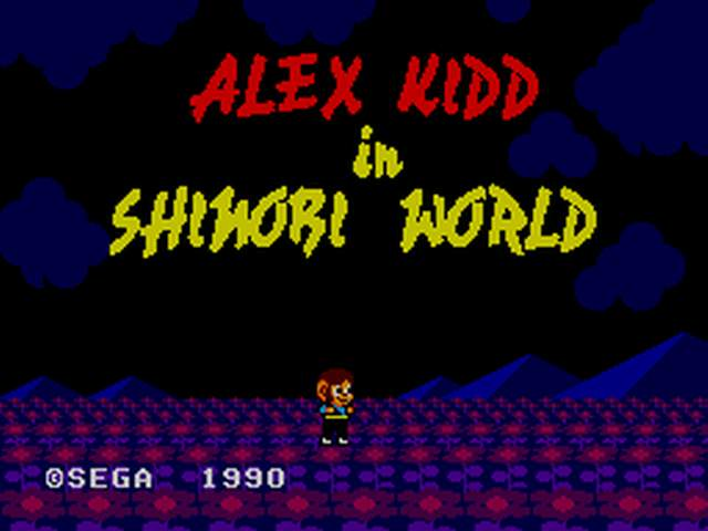 [Master System] Alex Kidd in Shinobi World 0010