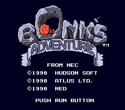 [PC Engine] Bonk\'s Adventure / PC KID 010