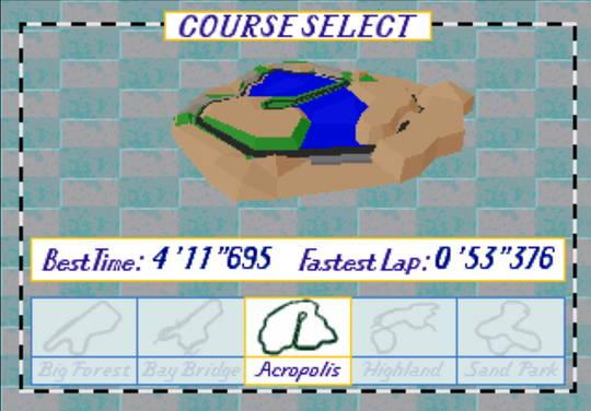 [MegaDrive 32x] Virtua racing : Deluxe 1010