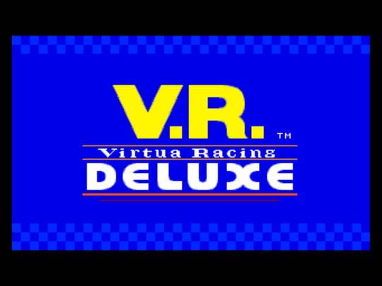 [MegaDrive 32x] Virtua racing : Deluxe 110