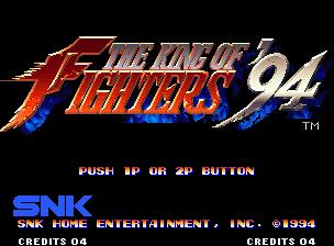 [NeoGeo] King of Fighters 94 110