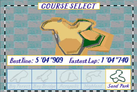 [MegaDrive 32x] Virtua racing : Deluxe 1210