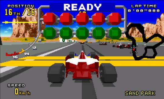 [MegaDrive 32x] Virtua racing : Deluxe 1510