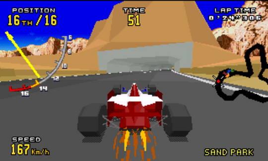 [MegaDrive 32x] Virtua racing : Deluxe 1710