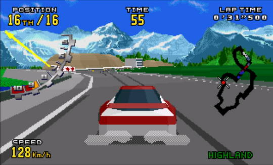 [MegaDrive 32x] Virtua racing : Deluxe 2010