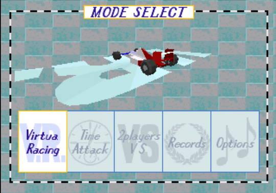 [MegaDrive 32x] Virtua racing : Deluxe 210