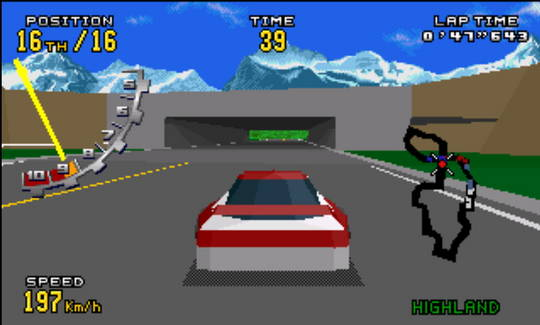 [MegaDrive 32x] Virtua racing : Deluxe 2110